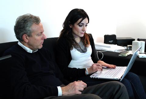Colta con il prof. Marco Turinetto durante il Laboratorio Newform nel novembre 2012