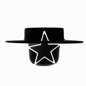 smalto-stella-vuota-cappello-nero